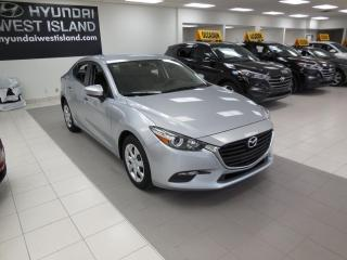 Used 2017 Mazda MAZDA3 GX AUTO A/C CRUISE BT CAMÉRA GROUPE ÉLEC for sale in Dorval, QC
