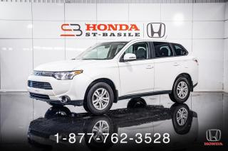 Used 2014 Mitsubishi Outlander SE + AWD + V6 + 7 PASSAGERS + WOW! for sale in St-Basile-le-Grand, QC
