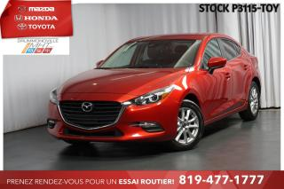 Used 2017 Mazda MAZDA3 *VOLANT+SIÈGES CHAUFFANTS*  MANUELLE 6 RAPPORTS! for sale in Drummondville, QC