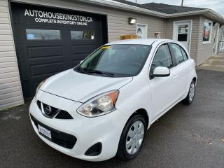 Used 2015 Nissan Micra SV - FINANCE AS LOW AS $77. BI-WEEKLY O.A.C. for sale in Kingston, ON