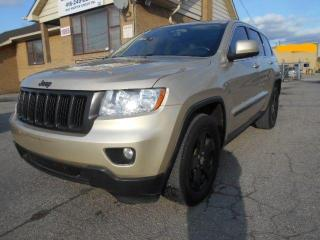 Used 2012 Jeep Grand Cherokee Laredo 4X4 3.6L V6 Loaded Leather Navigation 215K for sale in Rexdale, ON