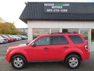 Used 2011 Ford Escape XLT, SUPER LOW KM, 4 WHEEL DRIVE for sale in Mississauga, ON