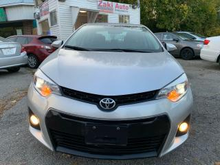 Used 2014 Toyota Corolla Safety Certification included the Asking Price S for sale in Toronto, ON
