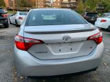 2014 Toyota Corolla Safety Certification included the Asking Price S