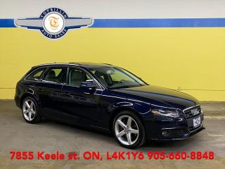 Used 2011 Audi A4 2.0T Wagon, AWD, Pano Roof for sale in Vaughan, ON