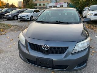 Used 2009 Toyota Corolla Safety Certification included  Asking Price /1 Owner Vehicle for sale in Toronto, ON