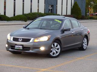 Used 2009 Honda Accord LEATHER,EX-L,FULLY LOADED,LOW KMS,CERTIFIED, for sale in Mississauga, ON