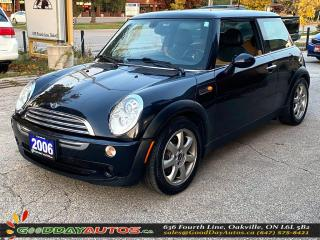 Used 2006 MINI Cooper Classic|LOW KM|NO ACCIDENT|PANO SUNROOF|CERTIFIED for sale in Oakville, ON