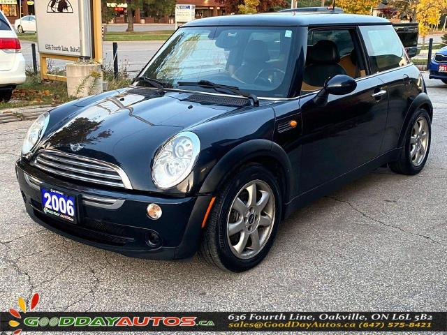 2006 MINI Cooper Classic|LOW KM|NO ACCIDENT|PANO SUNROOF|CERTIFIED