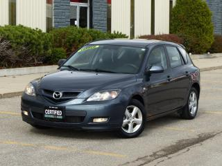 Used 2008 Mazda MAZDA3 CERTIFIED,LOW KMS,ALLOY RIMS,FOG LIGHTS,LOW KMS for sale in Mississauga, ON