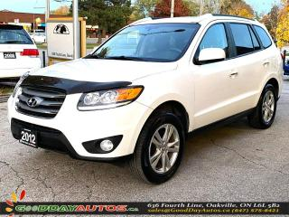 Used 2012 Hyundai Santa Fe Limited|NAVI|NO ACCIDENT|SUNROOF|AWD|BT|CERTIFIED for sale in Oakville, ON