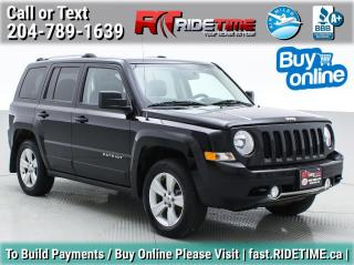 Used 2015 Jeep Patriot LIMITED for sale in Winnipeg, MB
