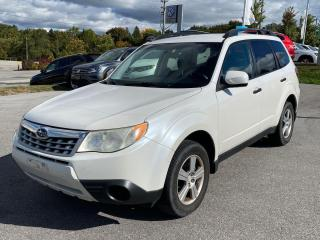 Used 2011 Subaru Forester 2.5X/AWD/ONE OWNER/NO ACCIDENT/SAFETY+WARRANTY INC for sale in Cambridge, ON