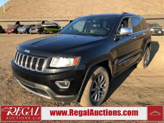 Used 2014 Jeep Grand Cherokee Limited 4D Utility 4WD 3.6L for sale in Calgary, AB