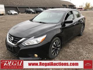 Used 2018 Nissan Altima SV 4D Sedan AT 2.5L for sale in Calgary, AB