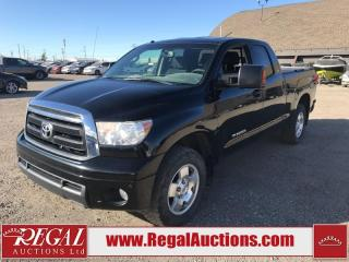 Used 2013 Toyota Tundra SR5 Double CAB 4WD 4.6L for sale in Calgary, AB