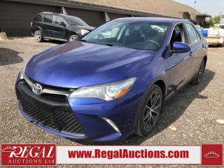Used 2015 Toyota CAMRY XSE 4D SEDAN 2.5L for sale in Calgary, AB