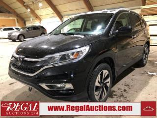 Used 2016 Honda CR-V Touring 4D Utility AWD for sale in Calgary, AB