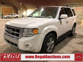 Used 2009 Ford Escape Limited 4D Utility 4WD for sale in Calgary, AB