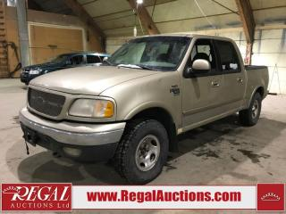 Used 2001 Ford F-150 4D SUPERCREW 4WD for sale in Calgary, AB