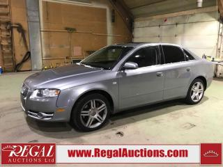 Used 2007 Audi A4 2.0T 4D SEDAN for sale in Calgary, AB