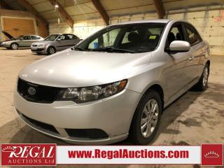 Used 2010 Kia Forte LX 4D Sedan FWD for sale in Calgary, AB