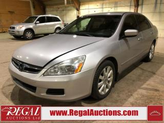 Used 2007 Honda Accord SE 4D Sedan for sale in Calgary, AB