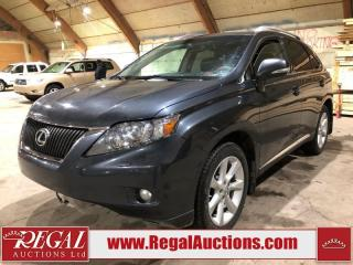 Used 2010 Lexus RX 350 for sale in Calgary, AB