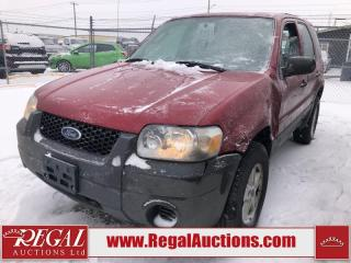 Used 2005 Ford Escape 4D Utility FWD for sale in Calgary, AB