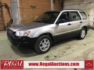 Used 2007 Subaru Forester 4D Utility AWD for sale in Calgary, AB
