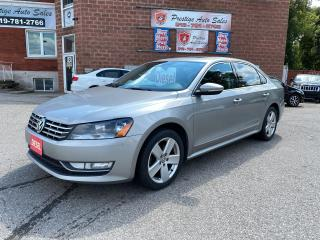Used 2012 Volkswagen Passat 2.0 TDI DSG Highline/DIESEL//ONE OWNER/NO ACCIDENT for sale in Cambridge, ON
