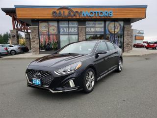 Used 2019 Hyundai Sonata ESSENTIAL - Leather Interior, Heated Front Seats, Back-Up Camera for sale in Courtenay, BC