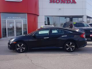 Used 2018 Honda Civic Touring No Accidents, HEATED LEATHER SEATS, APPLE CARPLAY, NAVI for sale in Winnipeg, MB