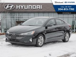 Used 2020 Hyundai Elantra Preferred Sun & Safety Pkg Heated Seats | Sunroof | Heated Steering for sale in Winnipeg, MB