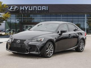 Used 2019 Lexus IS 300 AWD F SPORT Heated and Ventilated Seats for sale in Winnipeg, MB