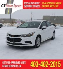 Used 2017 Chevrolet Cruze LT | $0 DOWN - EVERYONE APPROVED! for sale in Calgary, AB