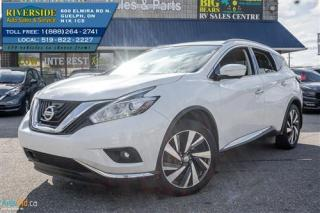Used 2015 Nissan Murano Platinum for sale in Guelph, ON