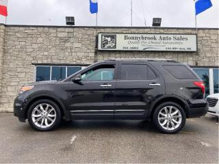 Used 2013 Ford Explorer Limited 4x4 sunroof leather camera Navigation for sale in Calgary, AB