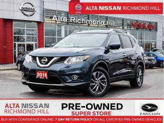 Used 2016 Nissan Rogue SL Prem.   Leather   360   Pano   Heated Steering for sale in Richmond Hill, ON