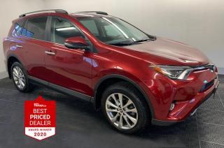 Used 2018 Toyota RAV4 AWD LIMITED *NAV - SUNROOF - ADAPTIVE CRUISE* for sale in Winnipeg, MB