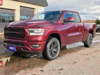 New 2021 RAM 1500 SPORT for sale in Port Elgin, ON