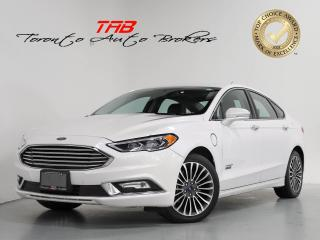 Used 2018 Ford Fusion Energi TITANIUM I HYBRID I NAVI I SUNROOF I CAM for sale in Vaughan, ON