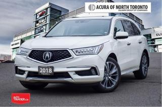 Used 2018 Acura MDX Elite No Accident| DVD| Apple Carplay for sale in Thornhill, ON