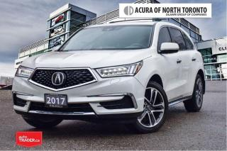 Used 2017 Acura MDX Navi No Accident| Remote Start| Apple Carplay for sale in Thornhill, ON
