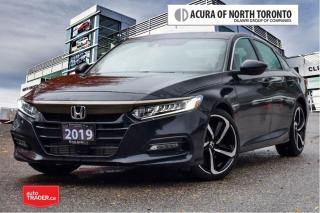 Used 2019 Honda Accord Sedan Sport CVT No Accident| Apple Carplay| Remote for sale in Thornhill, ON