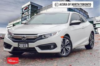 Used 2018 Honda Civic Coupe EX-T CVT No Accident| Remote Start| Apple Ca for sale in Thornhill, ON