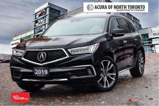 Used 2019 Acura MDX Elite No Accident| 7Yrs Warranty Inc |DVD for sale in Thornhill, ON