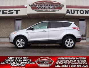 Used 2014 Ford Escape 4x4, HTD SEATS, PAN ROOF, NAVIGATION, AUTO CLIMATE for sale in Headingley, MB