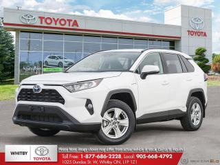 New 2021 Toyota RAV4 Hybrid XLE for sale in Whitby, ON