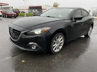Used 2015 Mazda MAZDA3 GT - NAV, SEAT HEAT, MOONROOF, REMOTE START for sale in Kingston, ON